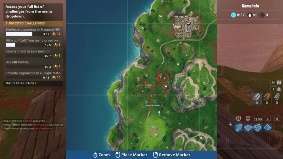 Fortnite Snobby Shores Map