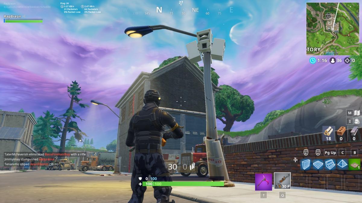 all streetlight locations fortnite