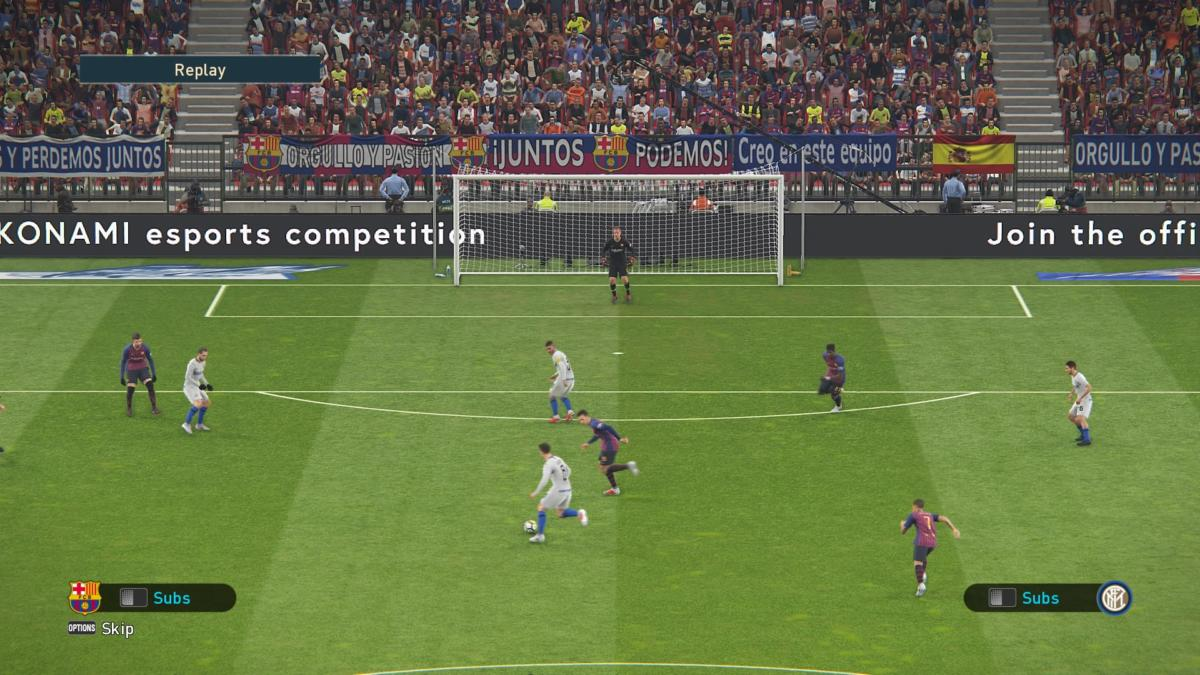 PES 2019 (PS4) REVIEW - One Step Forward, Two To The Side