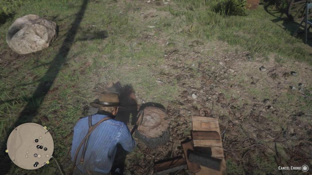 Red Dead Redemption 2 chores