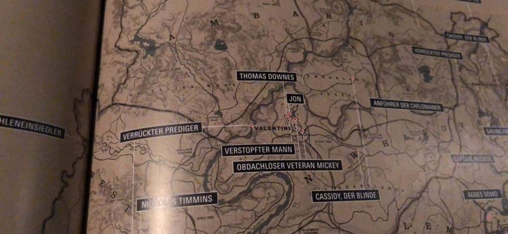 Red Dead Redemption 2 Map