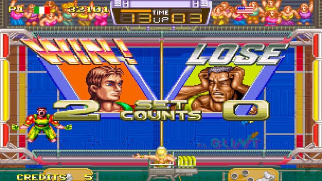 Windjammers Switch review