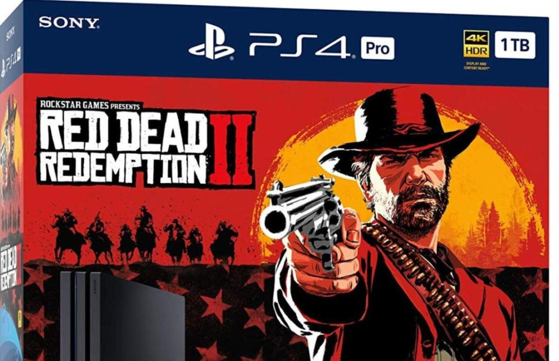 PS4 Pro Red Dead Redemption 2