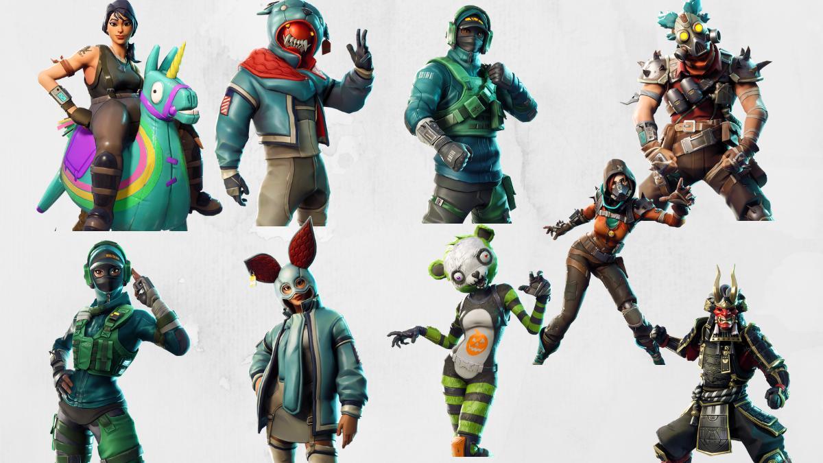 Fortnite v6 21 Skins Leaked, Include Zombie Pandas & Siege