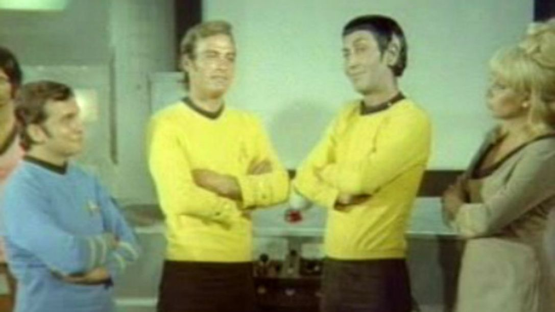 Ömer the Tourist in Star Trek (1973)