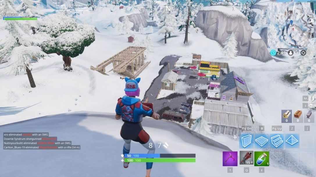 Fortnite sleigh