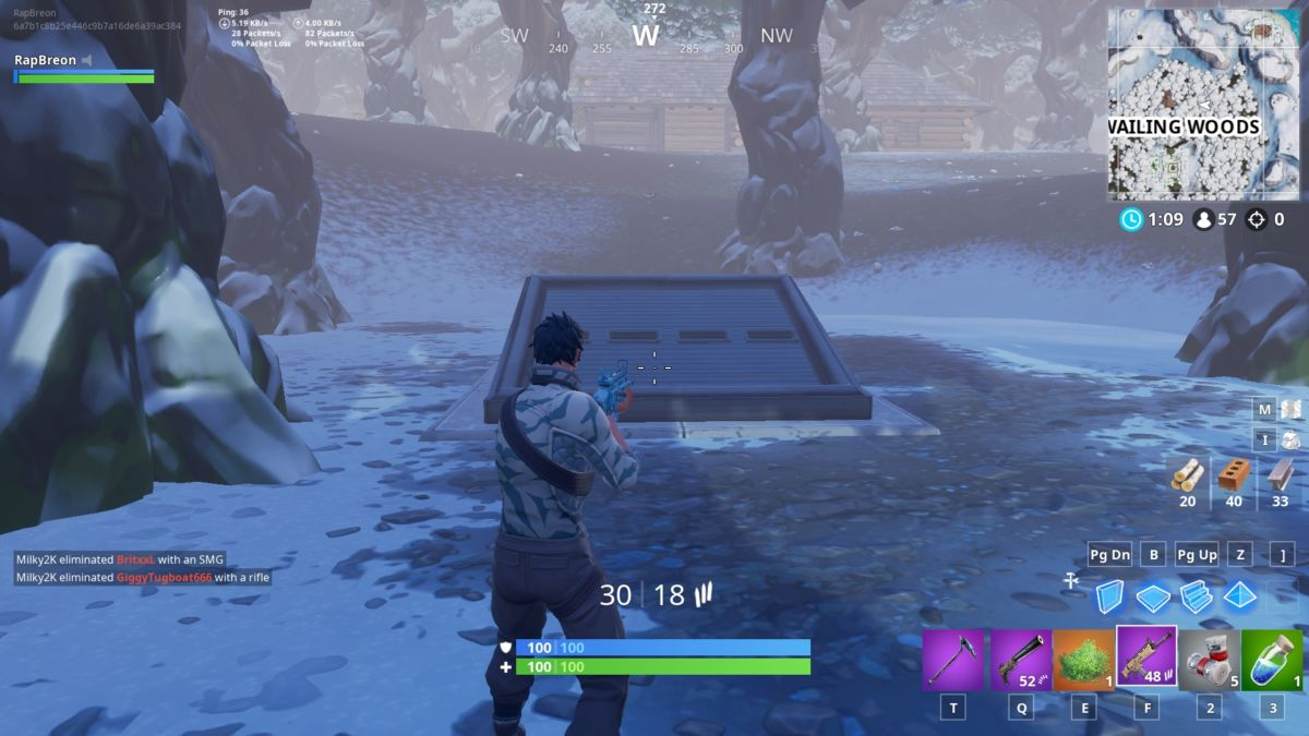 Fortnite Season 7 Guide: Search Between A Mysterious Hatch