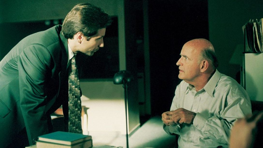 x-files peter boyle david duchovny