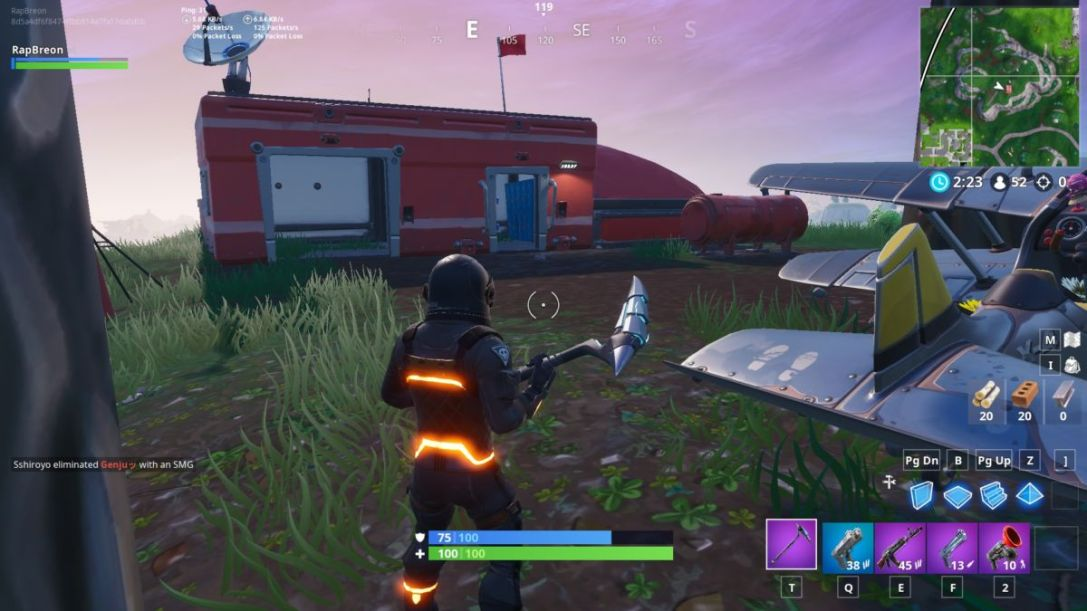 Fortnite Expedition Outposts map