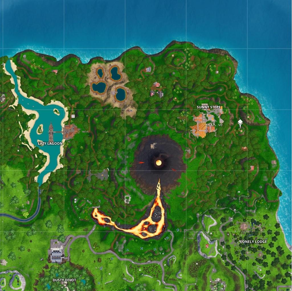 Map fortnite saison 8 lazy lagoon