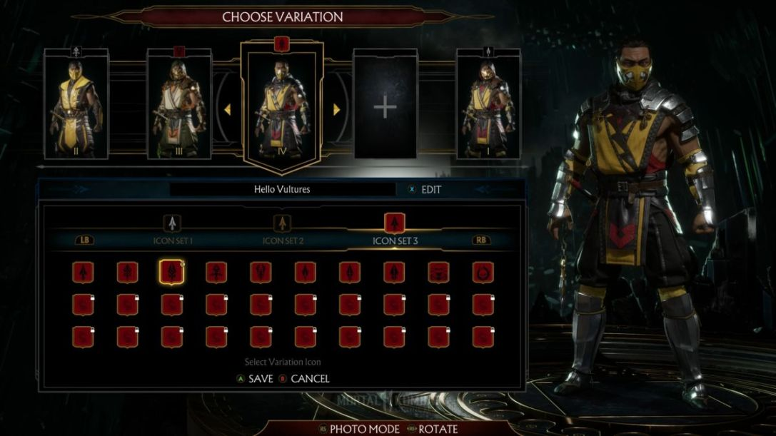 Mortal Kombat 11's Custom Variations Could Be Its Best Feature