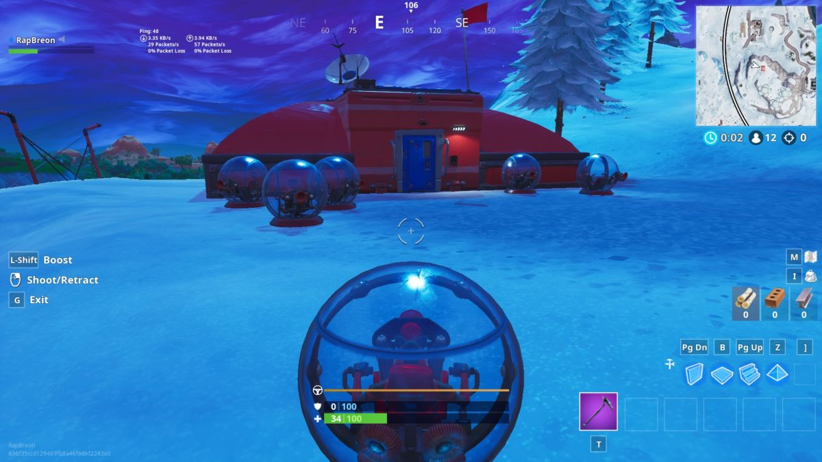 this expedition outpost survived into season 8 relatively unscathed thanks to the tundra itself being mostly untouched you ll find numerous ballers out - fortnite baller locations