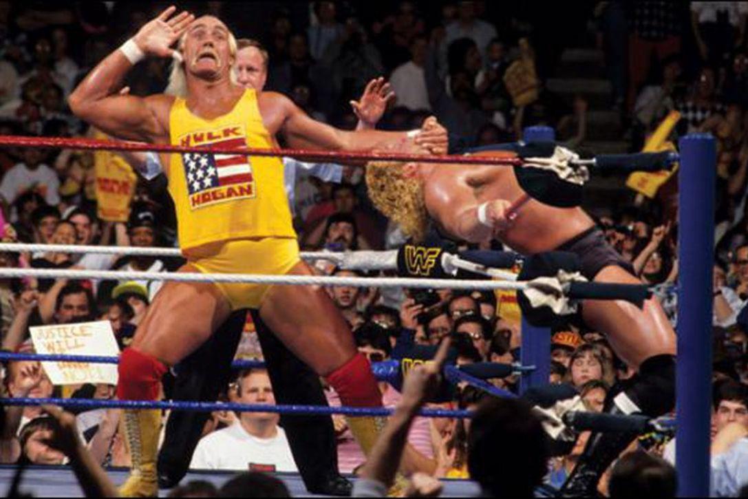 Hulk Hogan vs. Sycho Sid - WrestleMania 8