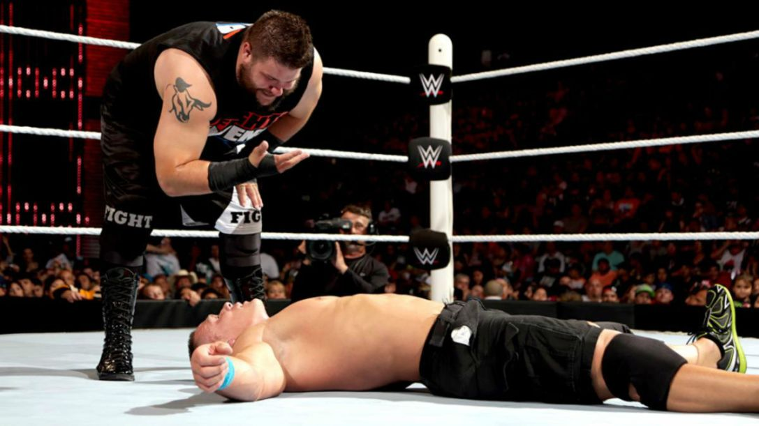John Cena vs. Kevin Owen Elimination Chamber 2015