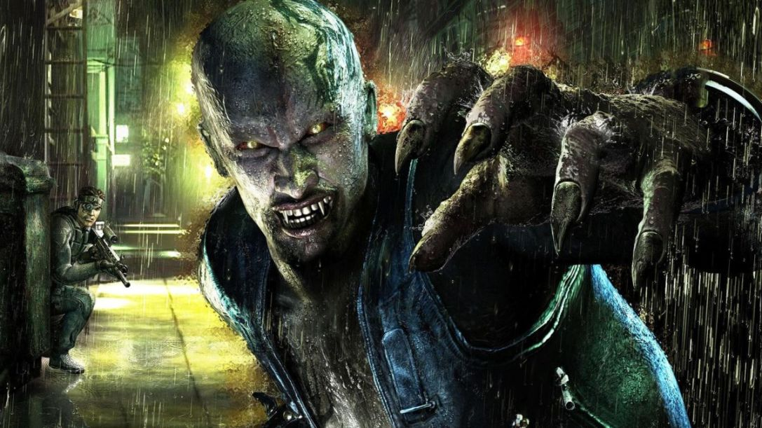 Vampire Rain game
