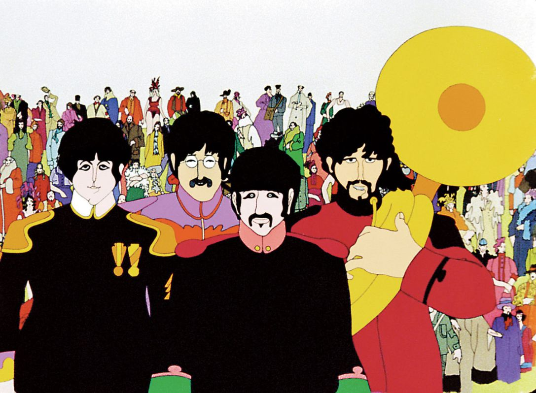 Yellow Submarine animated movie