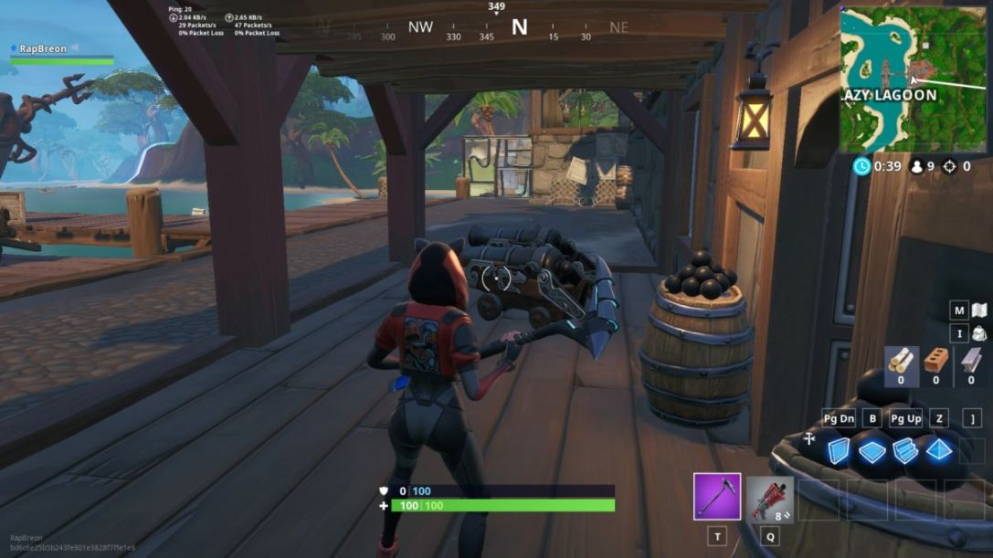 Fortnite Pirate Cannons