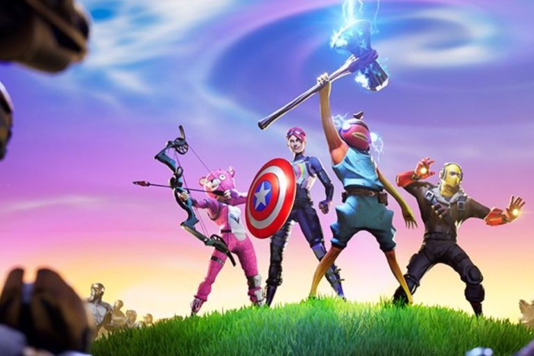 Avengers Fortnite