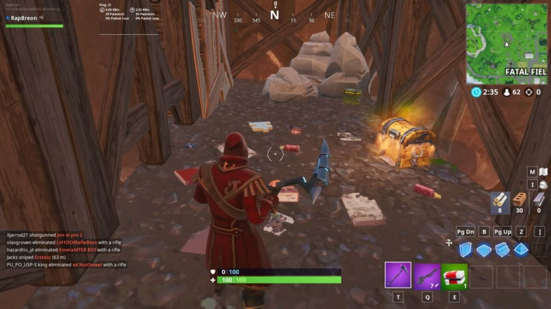 Fortnite Jigsaw Piece Fatal Fields