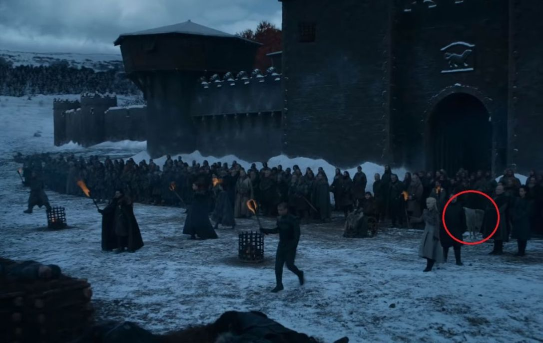 Game of Thrones Season 8 episode 4 ghost