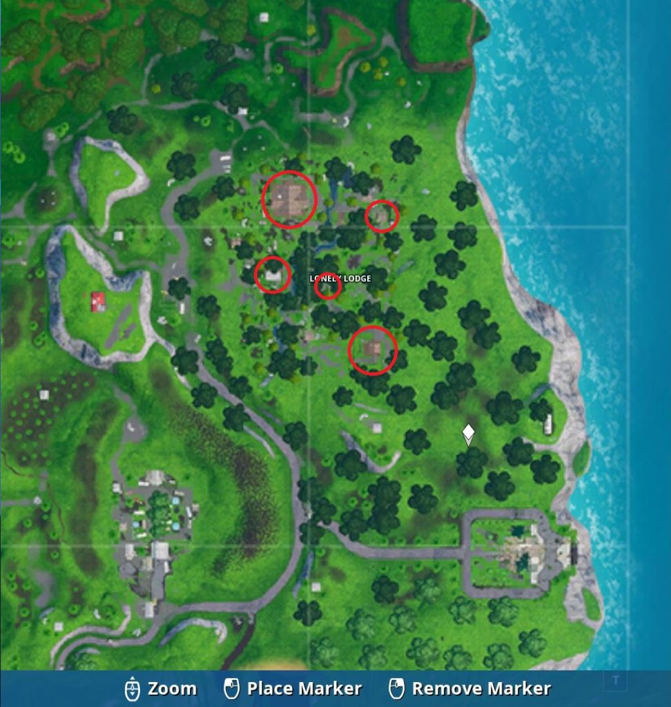 Lonely lodge chest locations
