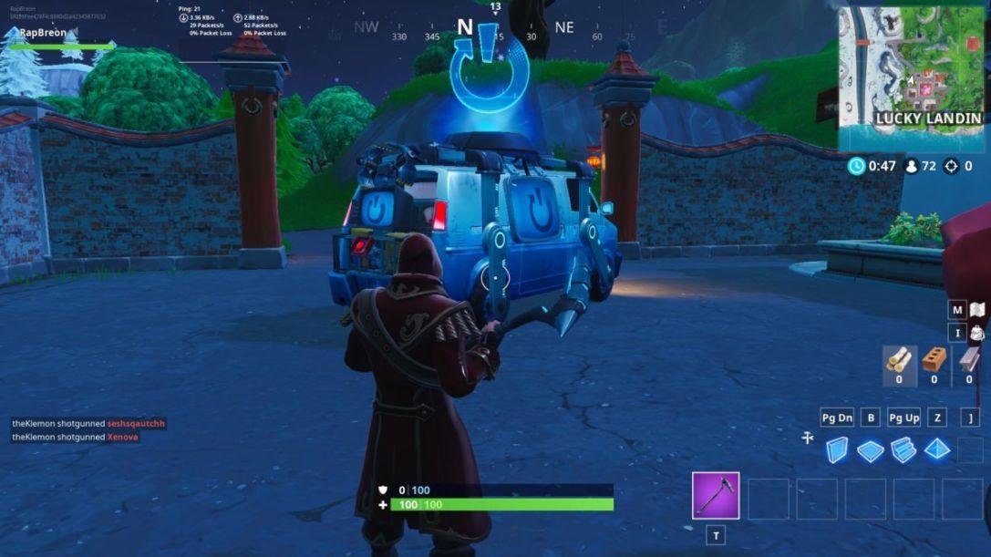 Lucky Landing Reboot Van