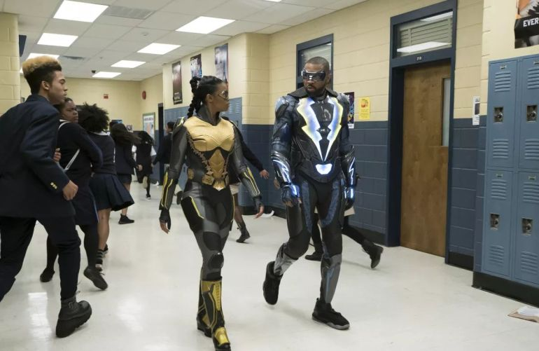black lightning Cress Williams nafessa williams