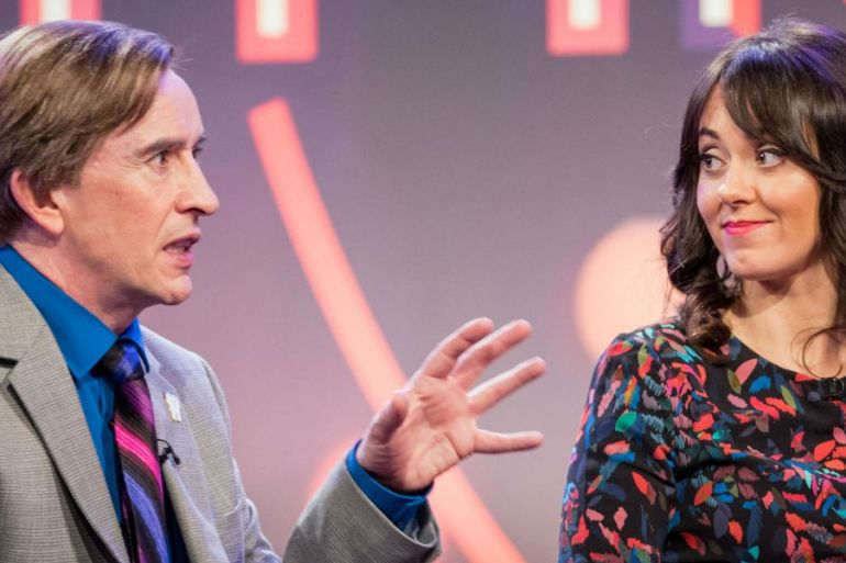 this time with alan partridge steve coogan Susannah Fielding