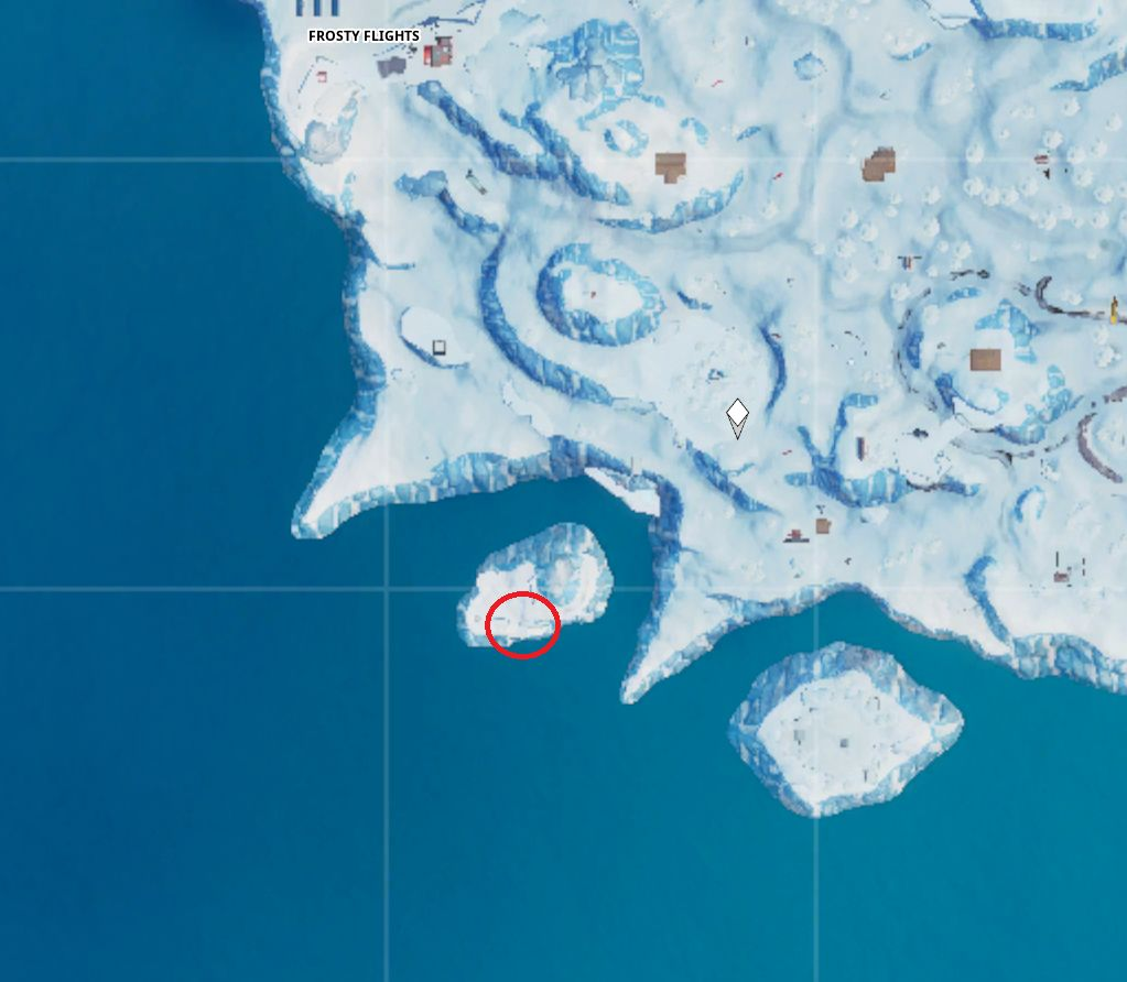 Fortbytes frozen island