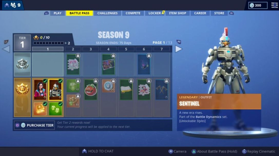 Fortnite Tier 99 Skin Season 9