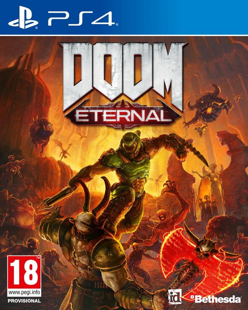 Doom Eternal box art