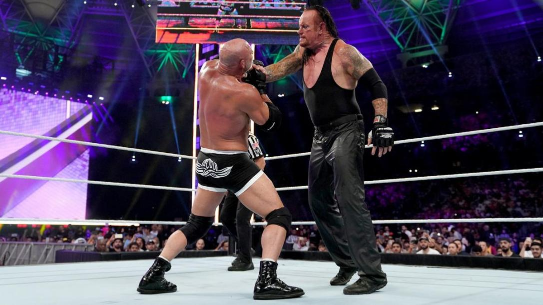 Undertaker vs Goldberg