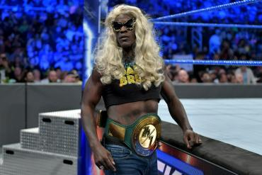 R-Truth with 24/7 Championship
