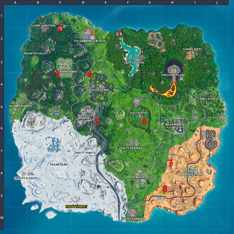 Clown Boards Map