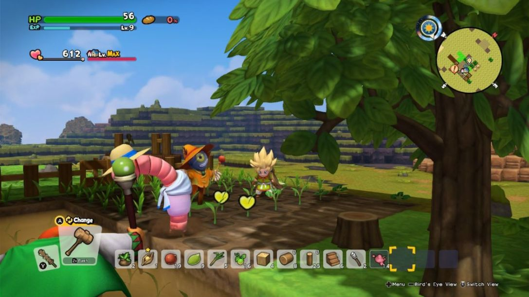 Dragon Quest Builders 2 Switch tips