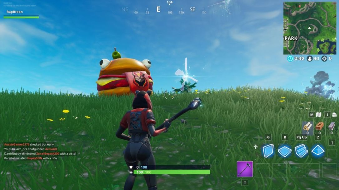 Fortnite Durrr Burger rift