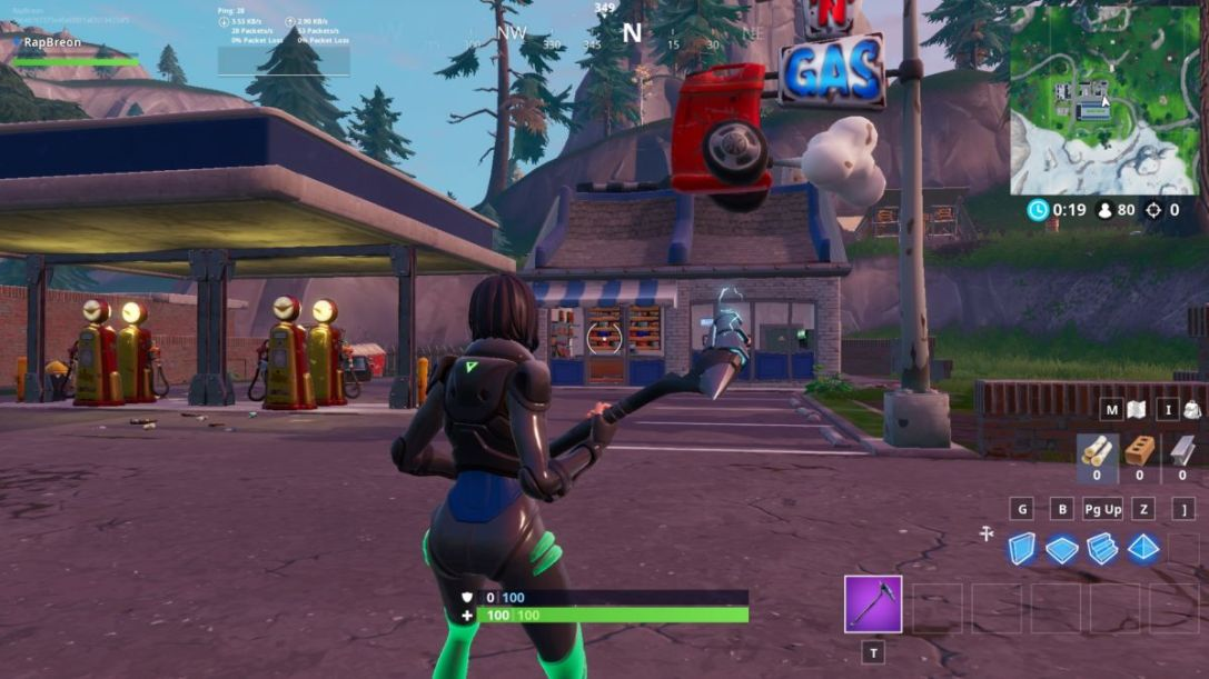Fortnite Gas Station 4 5