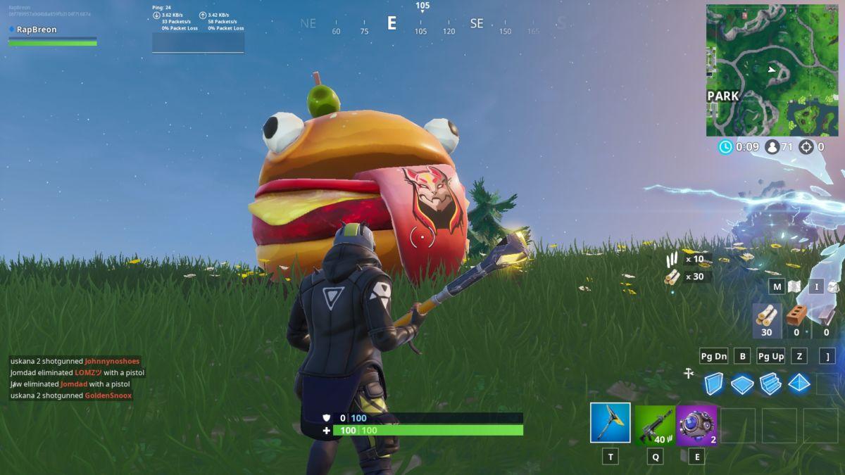 Fortnite Season X Road Trip Visit Drift Durrr Burger Head
