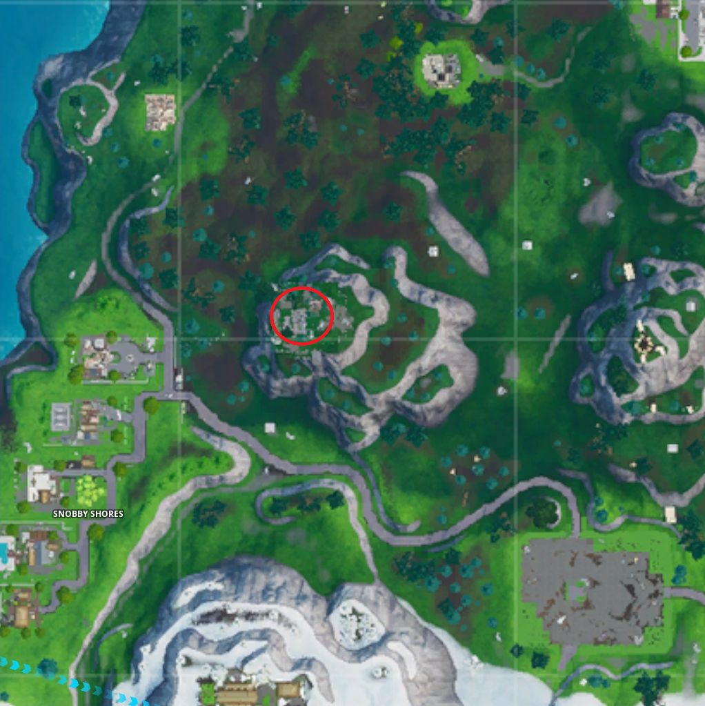 Fortnite Season X Blockbuster: Land At A Run Down Hero