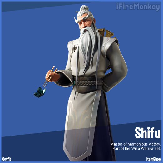 Shifu Fortnite