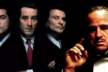 the godfather goodfellas marlon brando ray liotta robert de niro joe pesci