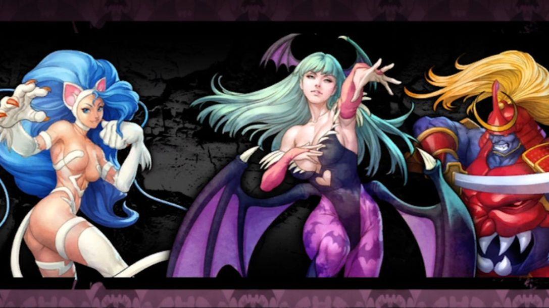 Darkstalkers game