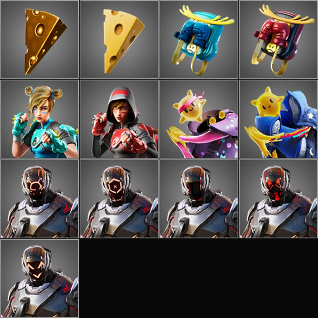 Fortnite v10 30 Leaked Skins: Visitor, PJ Pepperoni, Guaco
