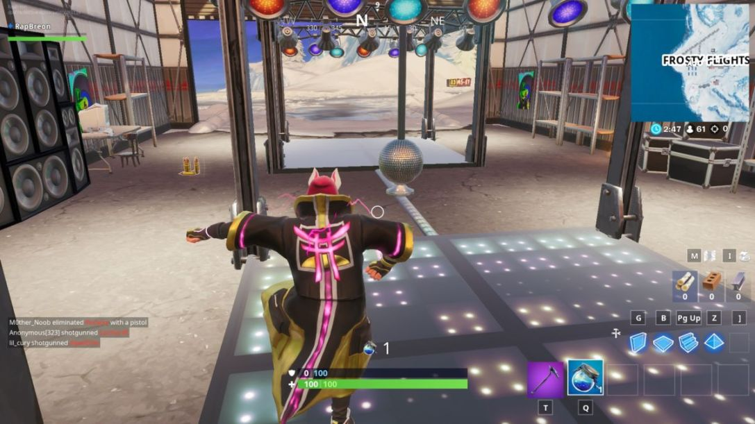 Fortnite Season X Boogie Down: Dance With Others To Raise