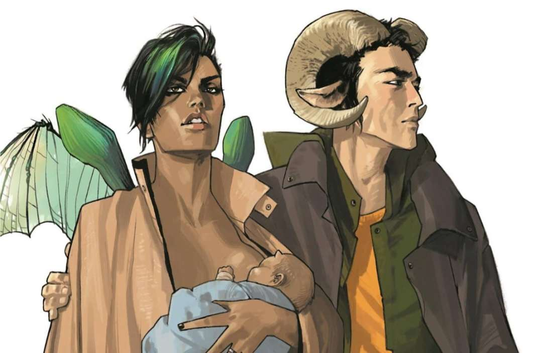 Saga - Brian K Vaughan and Fiona Staples