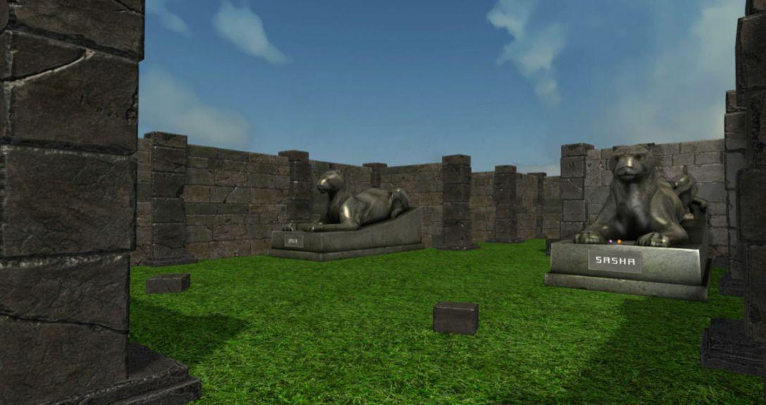 Endless Labyrinth VR game