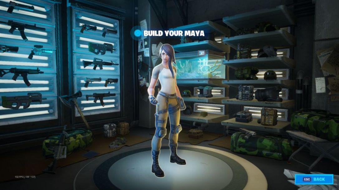 Fortnite Maya upgrades