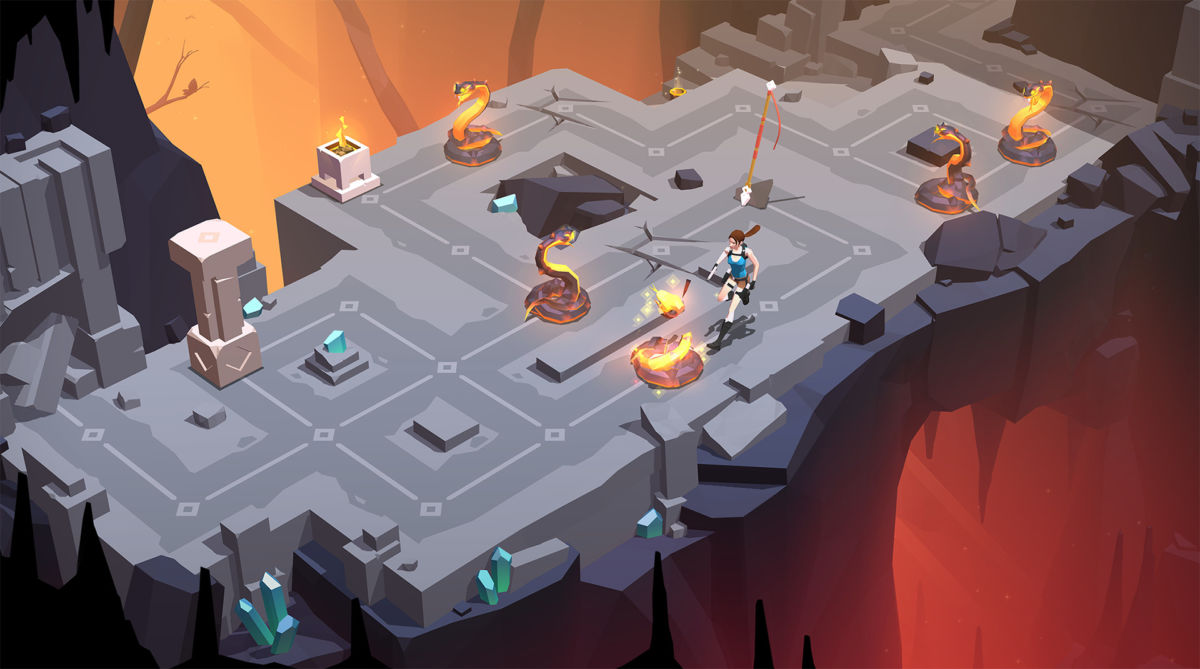 Lara Croft Go - 20 Best PS4 Strategy Games You Should Play