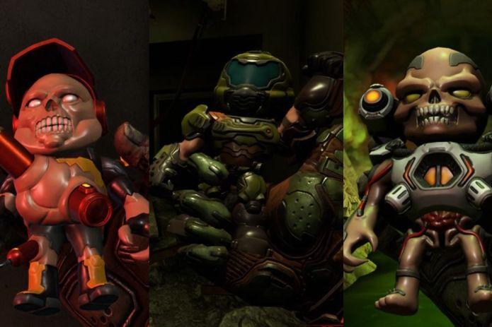 Doom Eternal All Secret Toys