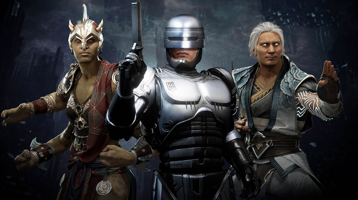 Mortal Kombat 11 Aftermath Launching May 26th Includes Robocop